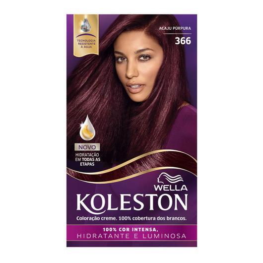 Coloração 366 acaju púrpura Koleston Wella 1un - Imagem em destaque