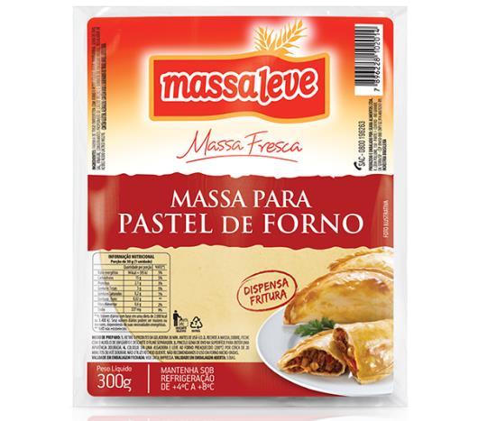 Massa para pastel de forno Massa Leve  300g - Imagem em destaque