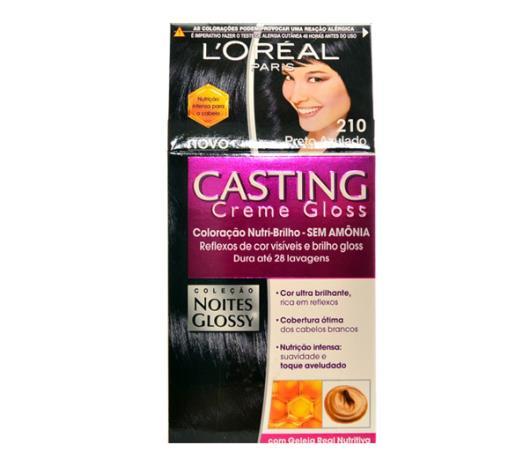 Coloração Casting creme gloss 210 preto azulado - Imagem em destaque