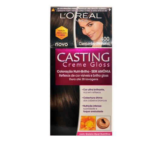 Coloração Casting creme gloss 400 castanho natural - Imagem em destaque
