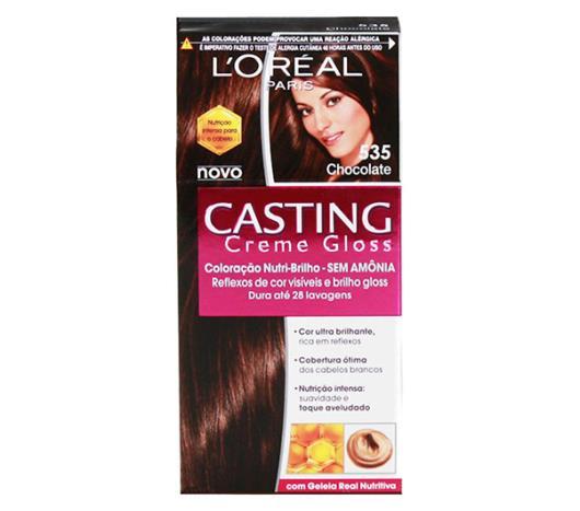 Coloração Casting creme gloss 535 chocolate - Imagem em destaque