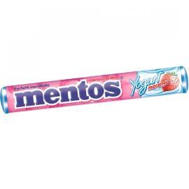 Confeito mastigável Mentos yogurt e morango 38g