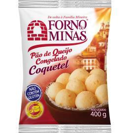 Pão de queijo coquetel Forno de Minas 400g