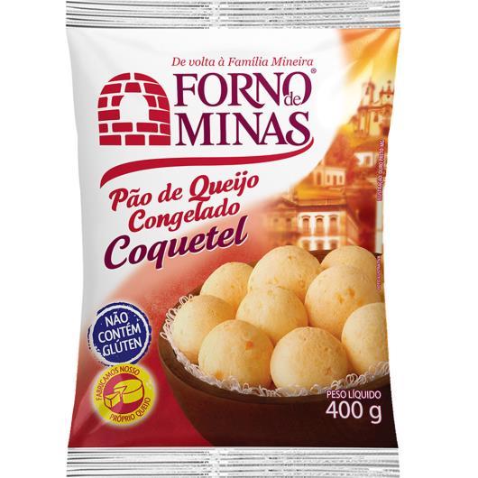 Pão de queijo coquetel Forno de Minas 400g - Imagem em destaque