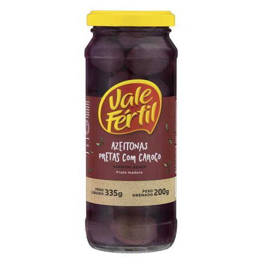 Azeitona preta com caroço Vale Fértil 200g - Imagem em destaque