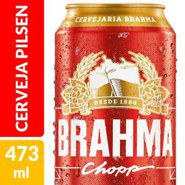 Cerveja Brahma lata 473ml