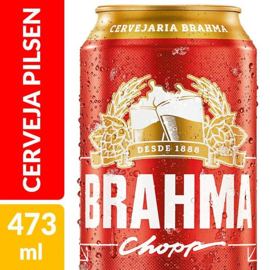 Cerveja Brahma Chopp Pilsen 473ml Lata - Imagem em destaque