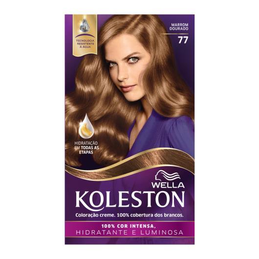Coloração 77 marron dourado Koleston Wella 1un - Imagem em destaque