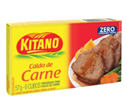 Caldo Kitano sabor carne 57g - Imagem em destaque