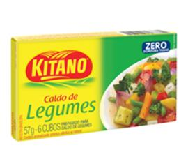 Caldo Kitano sabor legumes 57g