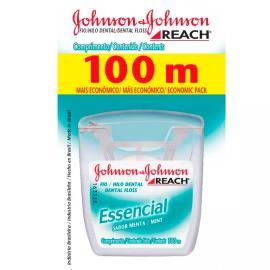 Fio dental Johnson&Johnson reach essencial menta