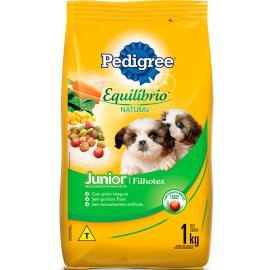 Alimento para cães Pedigree equilíbrio natural Filhotes 1kg