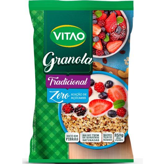 Granola Vitao Tradicional Zero 250g - Imagem em destaque