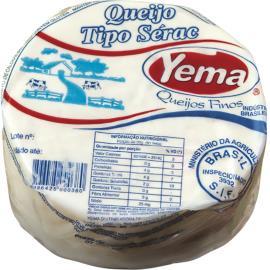Queijo Yema Minas Frescal tipo Sérac 450g