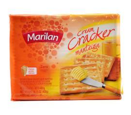 Biscoito Marilan cream cracker  manteiga 400g