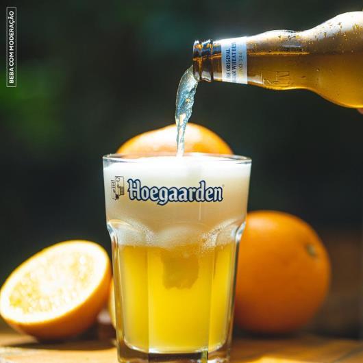 Cerveja Hoegaarden White 330ml Long Neck - Imagem em destaque