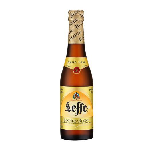 Cerveja Leffe Blonde 330ml Long Neck - Imagem em destaque