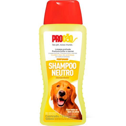Shampoo neutro Procão 500ml - Imagem em destaque