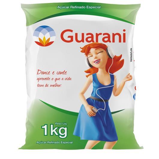 Açúcar refinado Guarani Especial 1kg - Imagem em destaque