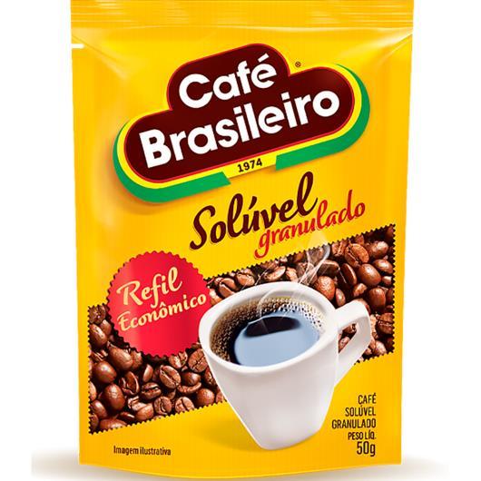 CAFÉ BRASILEIRO SOLÚVEL GRANULADO 50g - Imagem em destaque