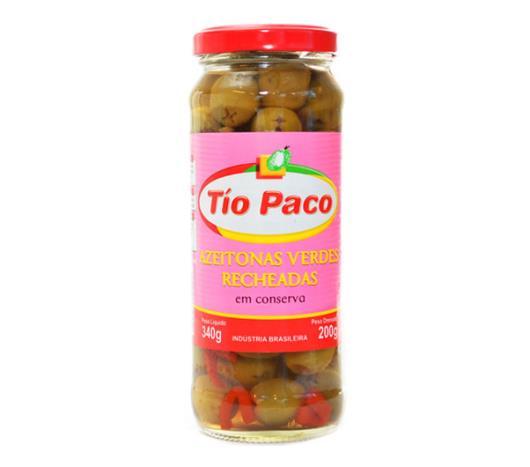 Azeitona Tío Paco verde recheadas 200g - Imagem em destaque