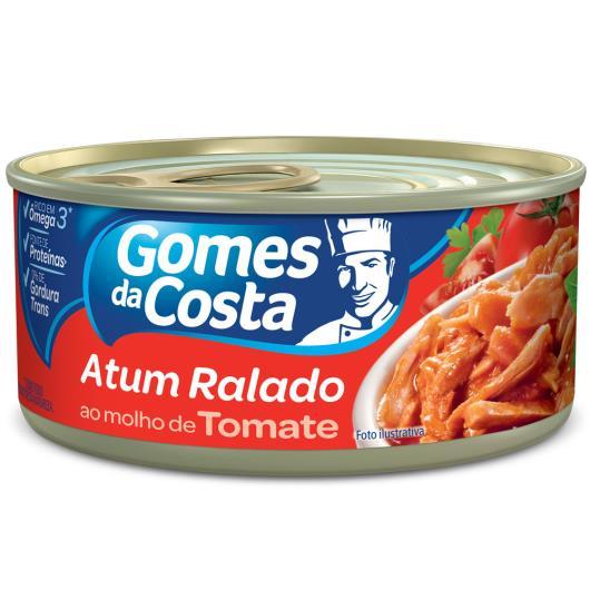 Atum ralado ao molho de tomate Gomes da Costa 170g - Imagem em destaque