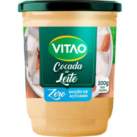 Cocada de leite Vitao Zero Açúcar 200g - Imagem em destaque