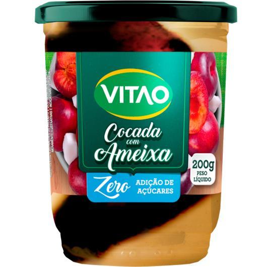 Cocada Vitao com ameixa Zero Açúcar 200g - Imagem em destaque