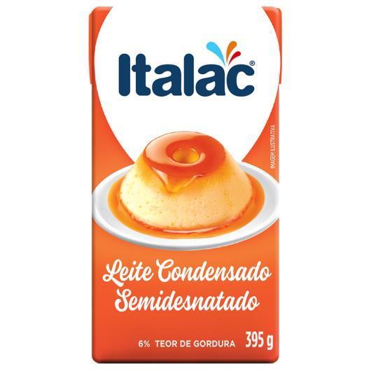 Leite Condensado Italac Semidesnatado TP 395g - Imagem em destaque