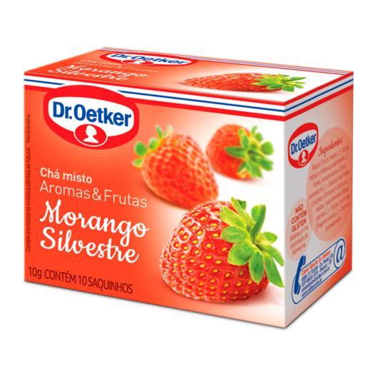Chá morango silvestre Dr.Oetker 10g - Imagem em destaque