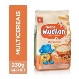Cereal Infantil NESTLÉ Mucilon Multicereais Sachê 230g