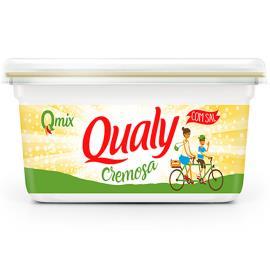 Margarina Qualy creme vegetal com sal 250g