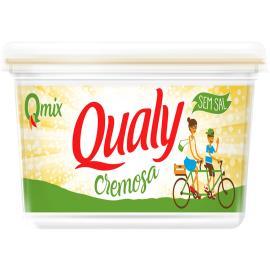 Margarina creme vegetal sem sal Qualy 250g