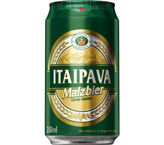 Cerveja malzbier Itaipava lata 350ml - Imagem em destaque