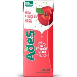 Bebida de soja Ades sabor maçã 200ml