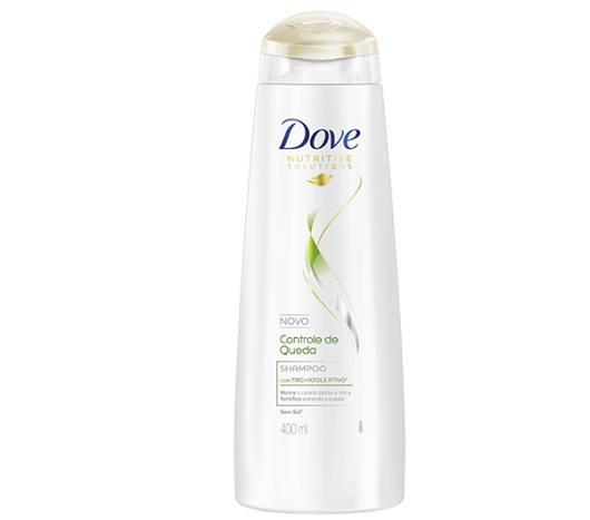 Shampoo Dove damage therapy controle de queda 400ml - Imagem em destaque