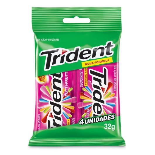 Goma de Mascar TRIDENT Tutti Frutti Bag 32G - Imagem em destaque