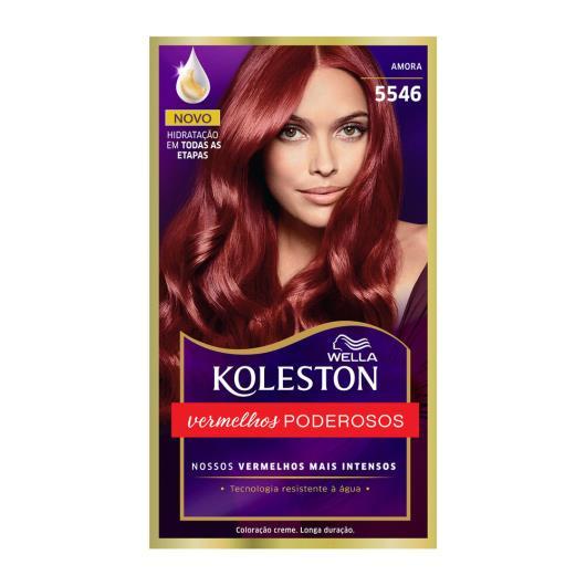 Coloração 5546 amora Koleston Wella 1un - Imagem em destaque