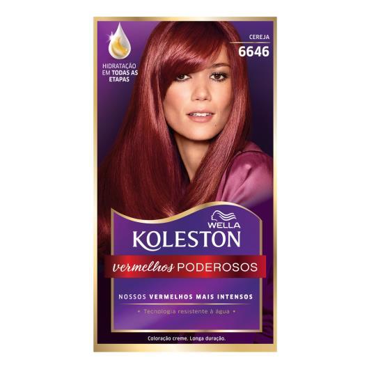 Coloração 6646 cereja Koleston Wella 1un - Imagem em destaque