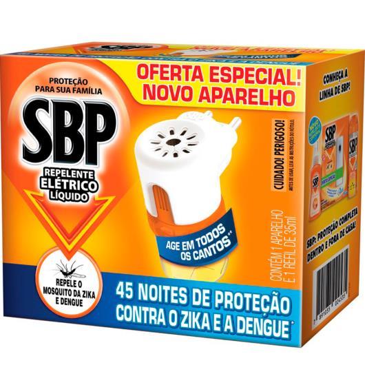 SBP Repelente Elétrico Líquido Aparelho + Refil de 45 noites - Imagem em destaque