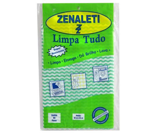 Pano limpa tudo Zenaleti com 3 unidades  - Imagem em destaque