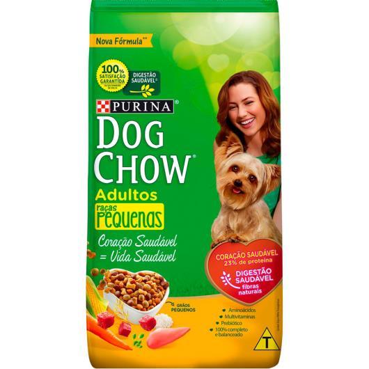 Ração para cães Dog Chow adulto raças pequenas 10,1kg - Imagem em destaque