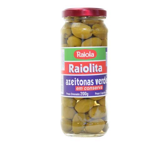 Azeitona Raiolita verde 200g - Imagem em destaque