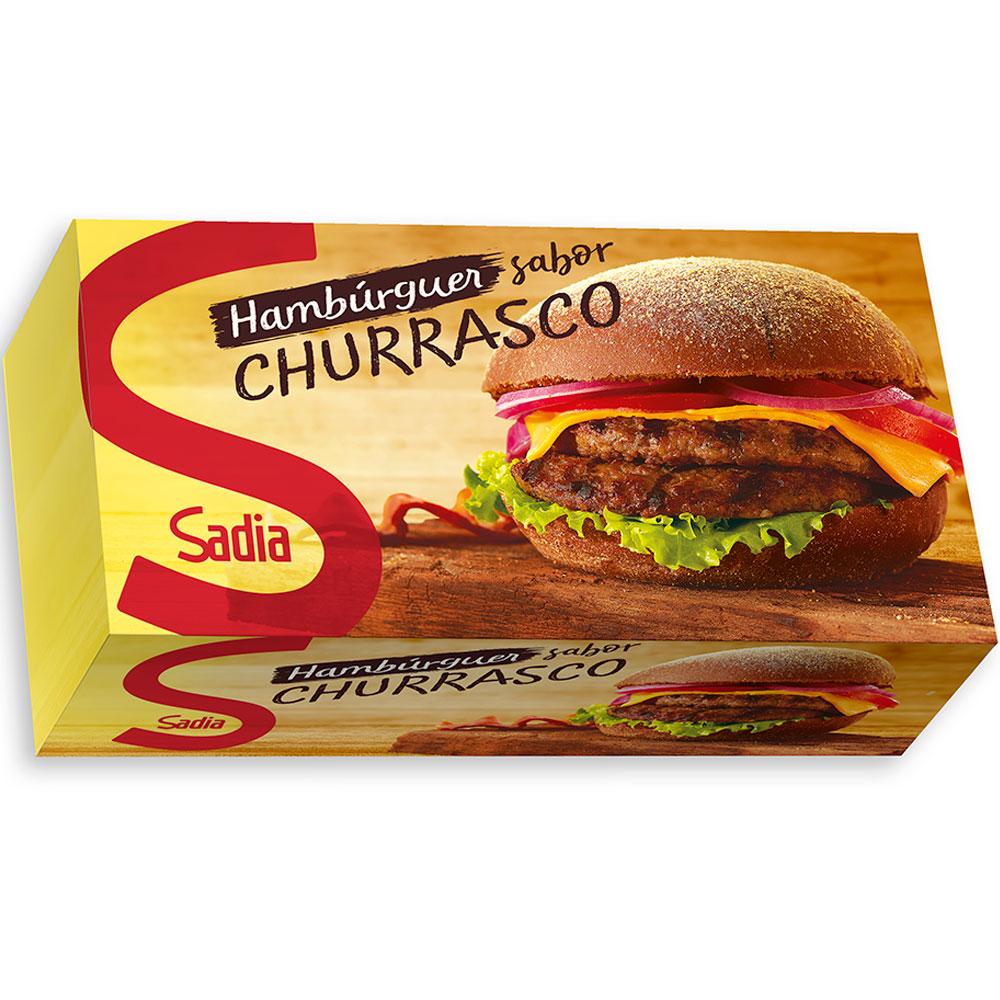 Hambúrguer Sadia Bovino Churrasco 672 G